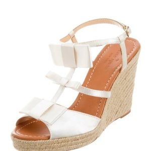 NWT Kate Spade Espadrille Wedge Sandals JuJu